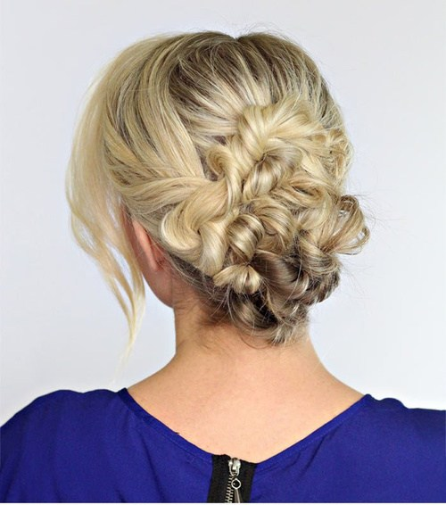 19 beautiful twisted updo
