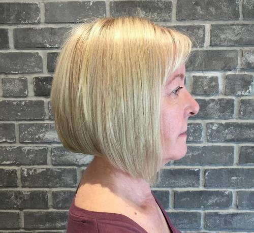 19 bob hairstyle for mature women
