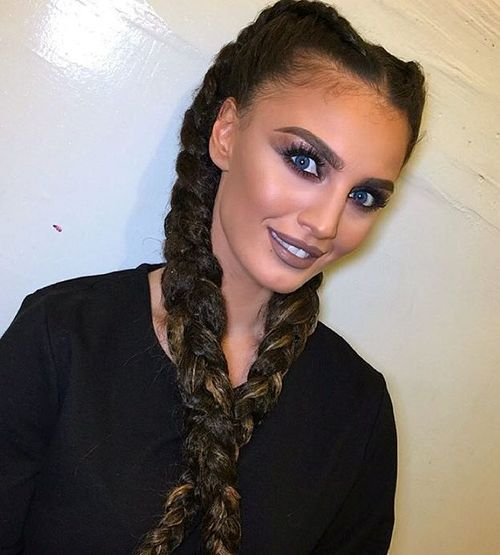19 long two braids hairstyle