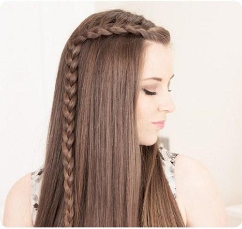 2 lauren conrad side braids