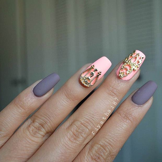 50 Best Nail Art Designs from Instagram – Page 20 – Foliver blog