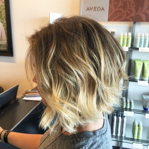 40 trendy inverted bob haircuts - 50 Messy Bob Hairstyles For Your Trendy Casual Looks