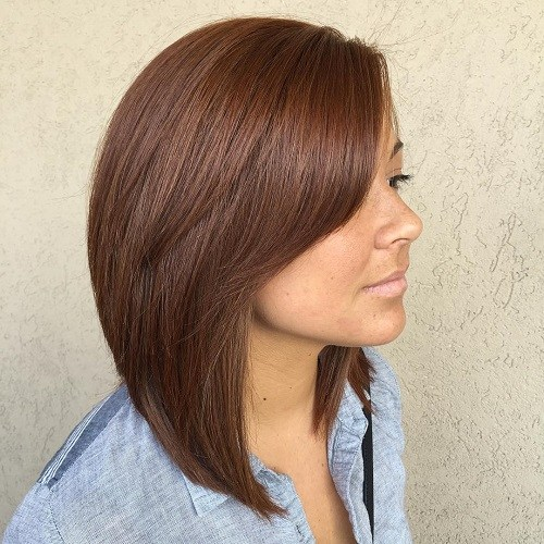 50 Inspiring Long Bob Hairstyles And Haircuts Page 20 Foliver Blog