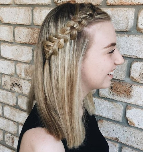 20 side dutch braid for long hair