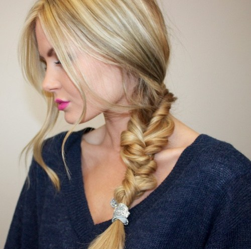 20 twisted braid hairstyle