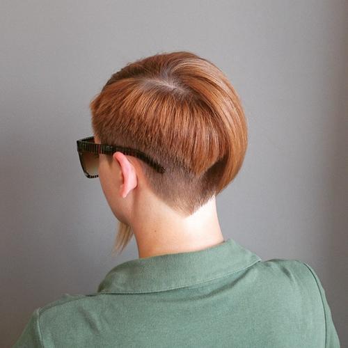 22 asymmetrical bob with bangs