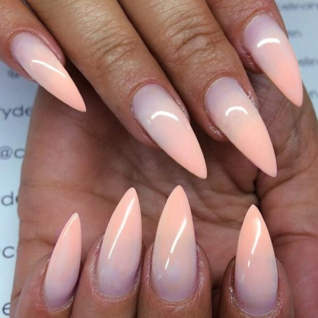 24 Ombr Nail Design