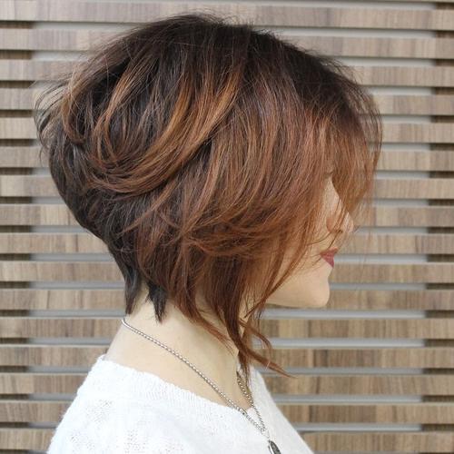24 wavy bob haircut and hairstyle