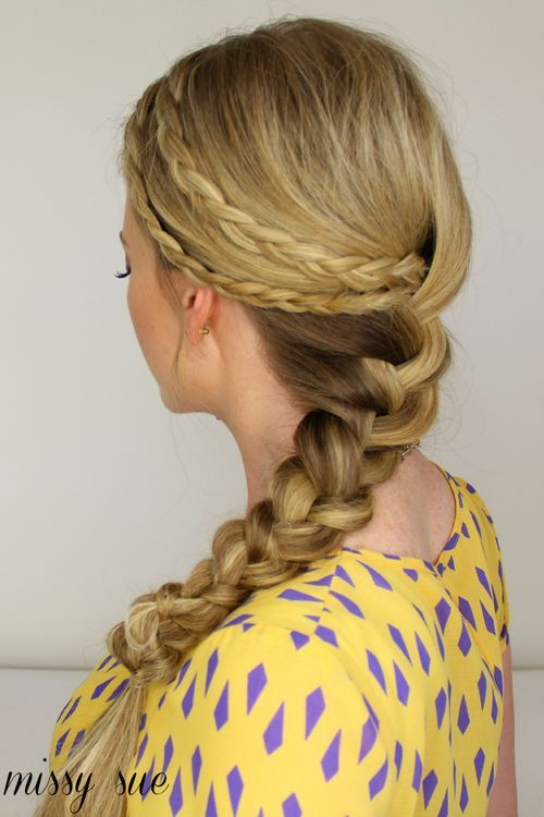 29 chunky two french braid hairstyle