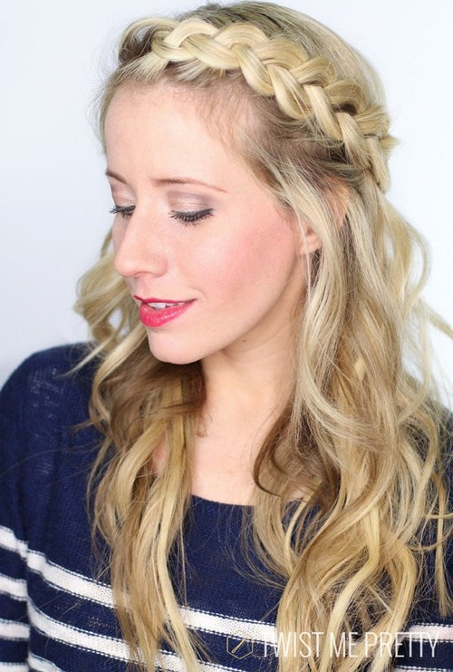 31 braids with bohemian waves