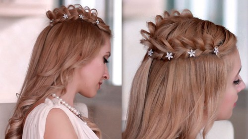 33 gorgeous loopy braid with clips