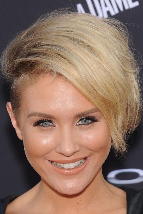 34 short layered undercut hairstyle