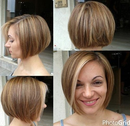 Miraculous 40 Short Bob Hairstyles Layered Stacked Wavy And Angled Bob Short Hairstyles Gunalazisus