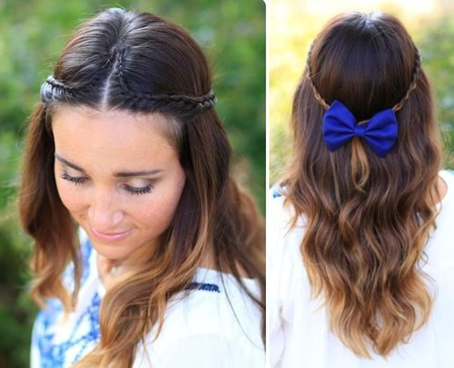 34 thin double braid with bold bow