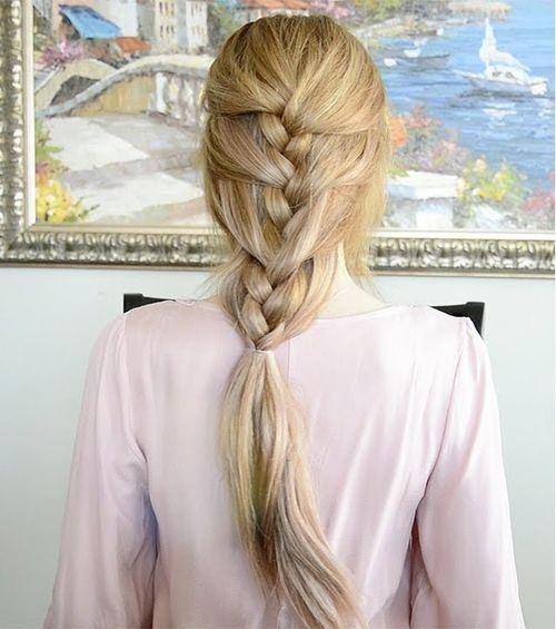 35 laid back braid hairstyle