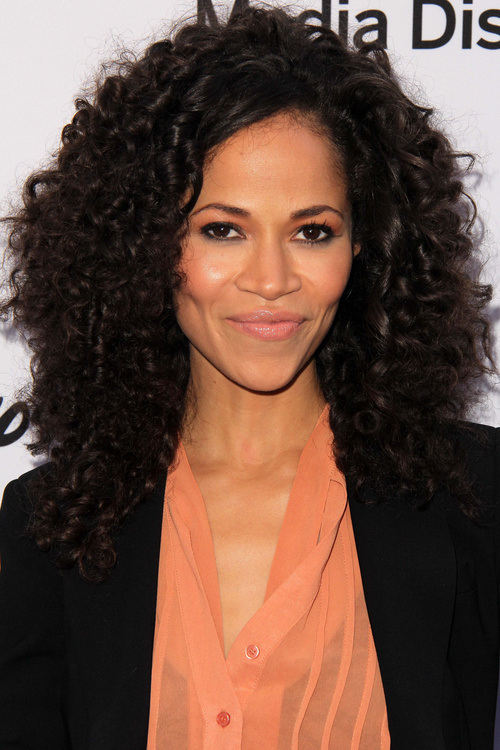4 black curly hairstyle with loose spirals