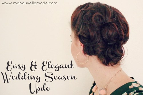 4 formal updo for long hair