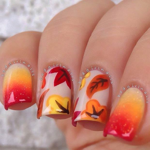 5 Gradient Nail Design
