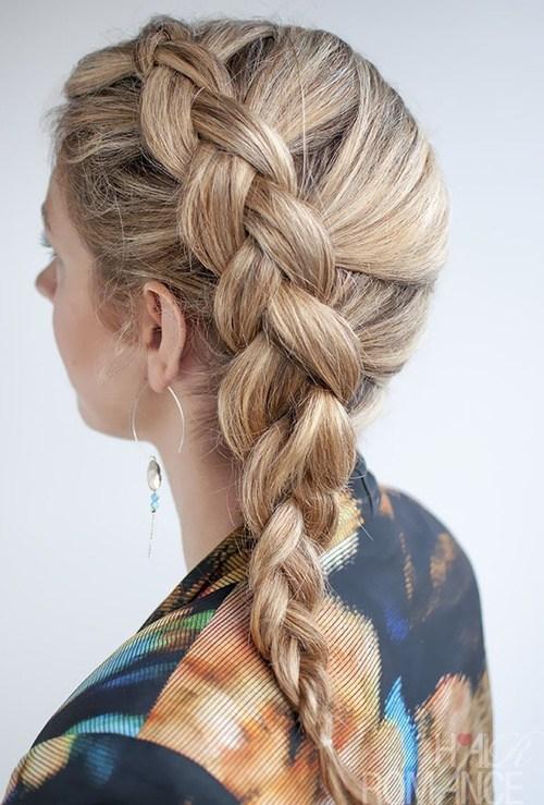 5 dutch side braid hairstyle