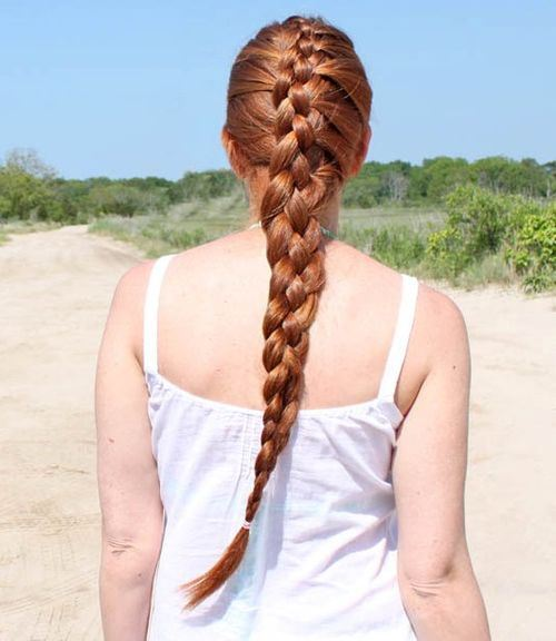 50 four strand french braid hairstyle
