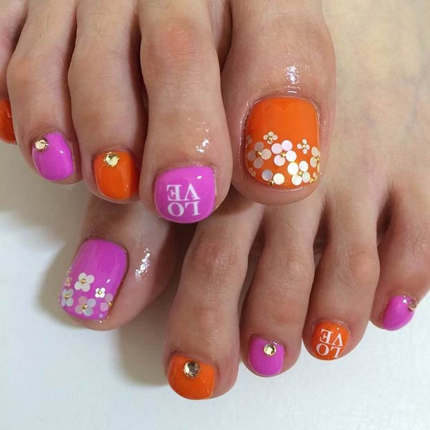 31 Adorable Toe Nail Designs For This Summer Page 6