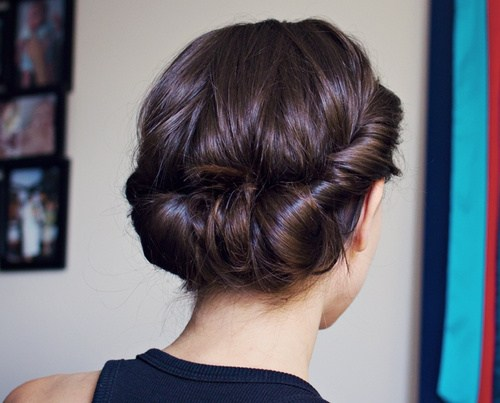 6 easy elegant headband updo