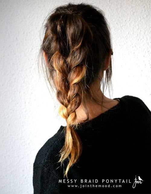 7 Easy Hairstyle with Braid
