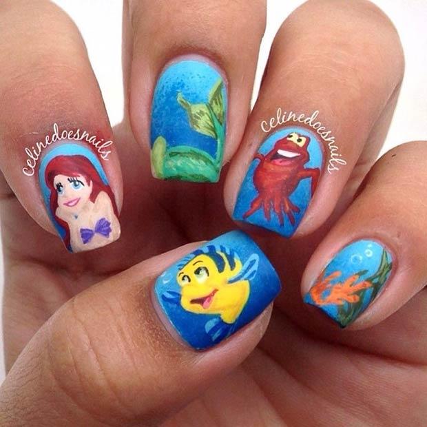 7 Little Mermaid