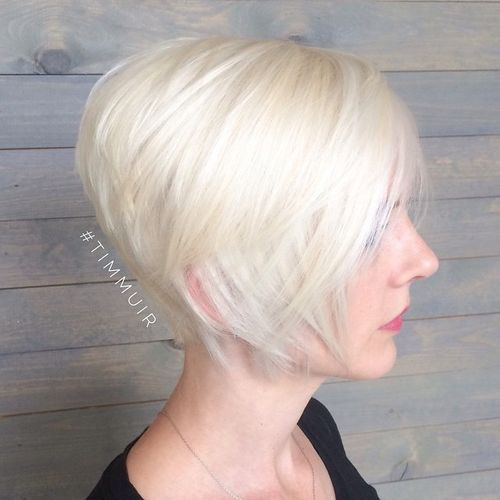 7 short stacked bob haircut
