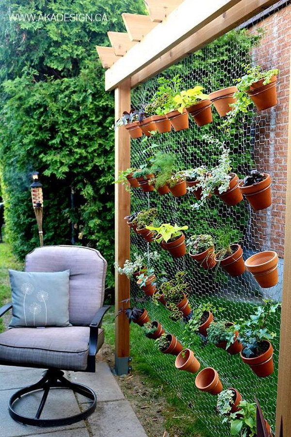 1 DIY Vertical Garden Wall