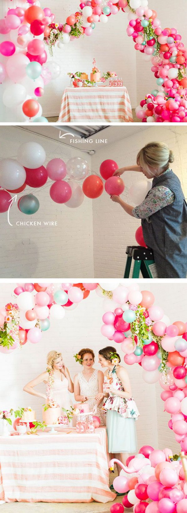 1 Whimsical Balloon Arch with Tutorials
