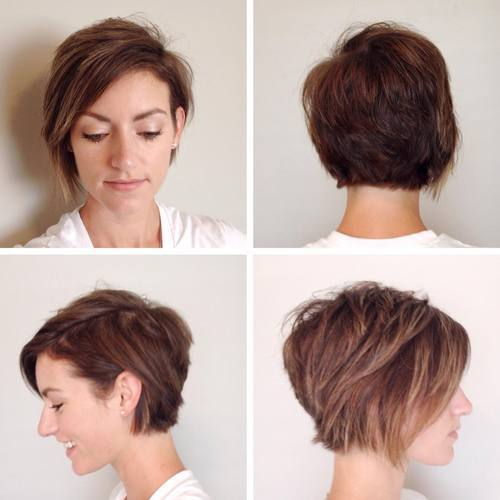1 pixie bob with highlights