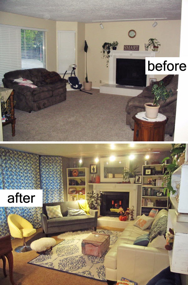 12 Living Room Makeover With Cozy Style