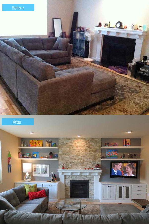 13 Beautiful Living Room Makeover