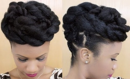 Awesome 40 Updo Hairstyles For Black Women Ranging From Elegant To Hairstyle Inspiration Daily Dogsangcom