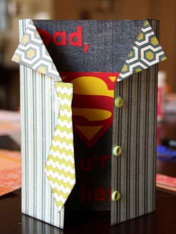 16 Superhero Card for Dad