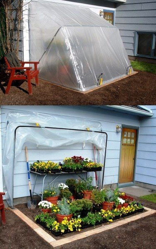 16 Use This Convertible Greenhouse To Control How Long Your Plants Need To Stay Outside