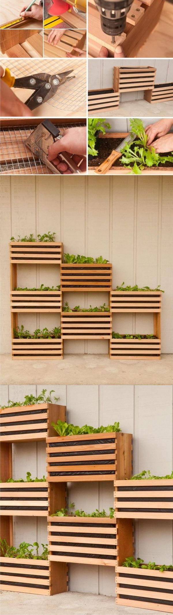 18 DIY Vertical Vegetable Garden