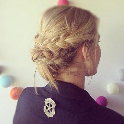 18 easy braided updo