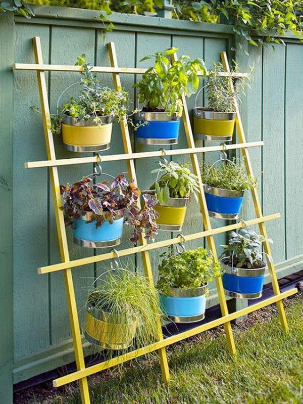 20  Trellis Vertical Container Garden