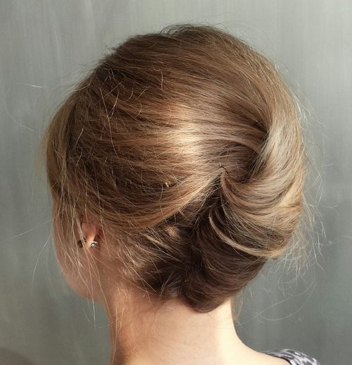 40 Stylish French Twist Updos Hairstyles Page 20
