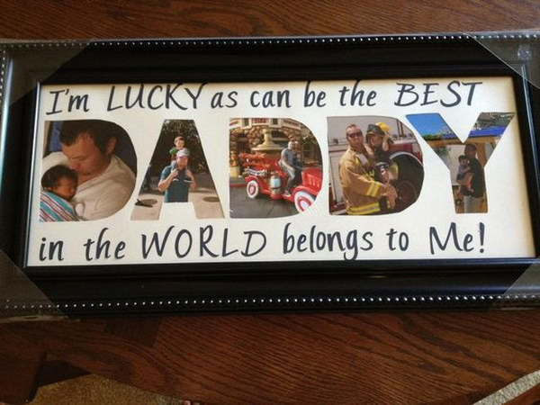 21 Father's Day Photo Gift