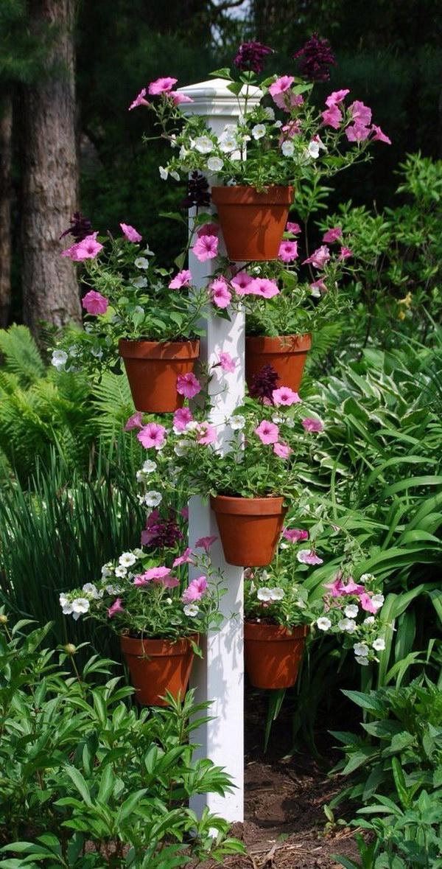 22 Creative Pot Hangers Vertical Garden