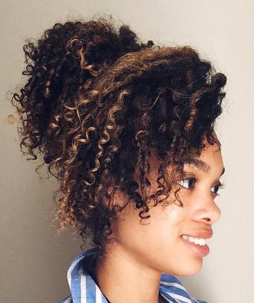 Easy Updos For Long Natural Hair