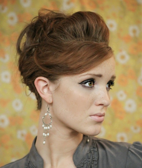 26 easy french twist updo