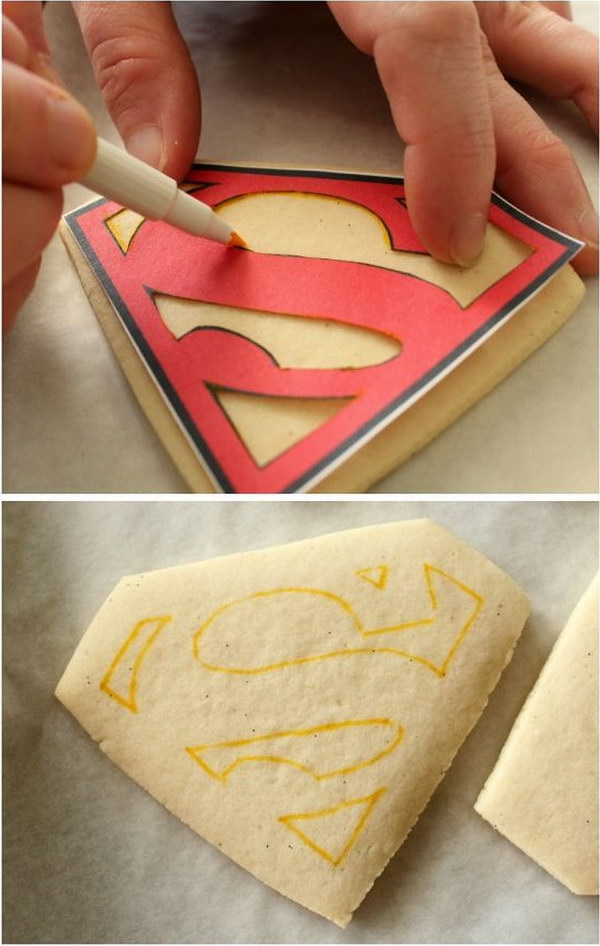 27 Father's Day Superhero Cookies