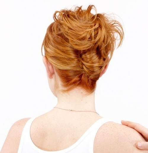 29 casual french twist