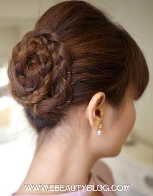 3 formal prom hair updo