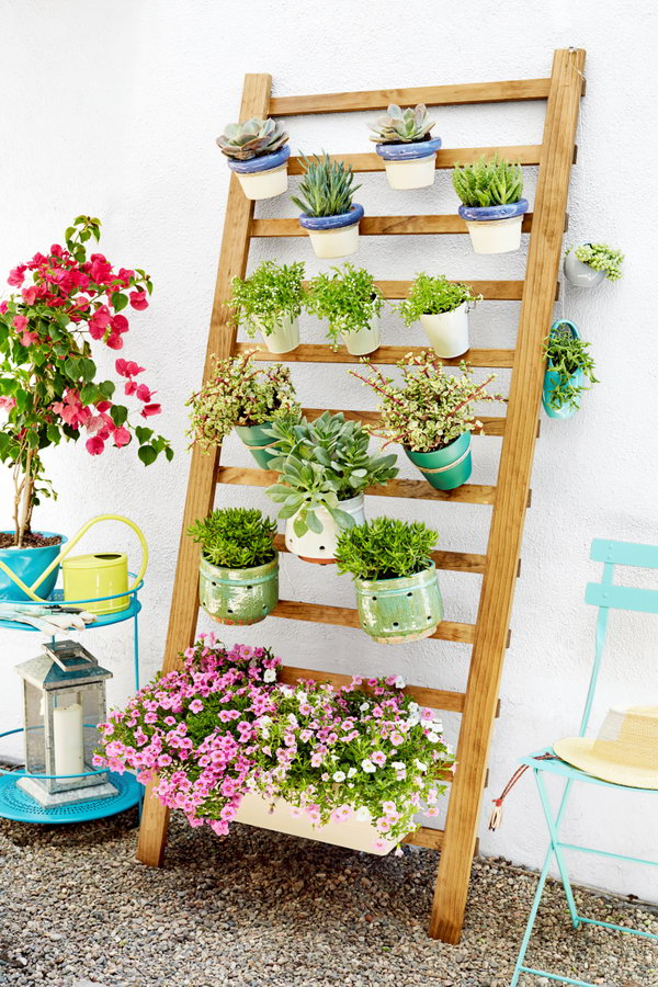 34 DIY Vertical Garden