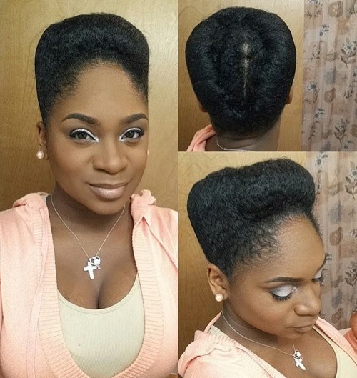 40 Updo Hairstyles for Black Women Ranging From Elegant to Eccentric ...